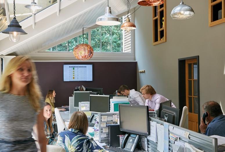 Westbury Essex office interior