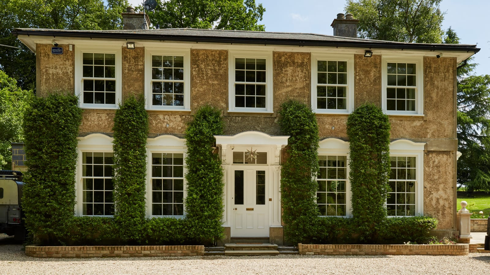 Fully renovated listed building in Ware with featuring legacy box sash windows