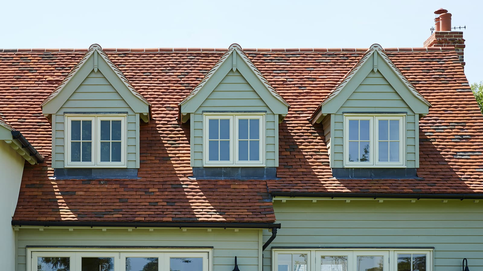 3 dormer windows
