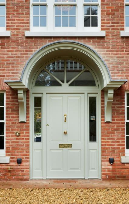 4- panel entrance door