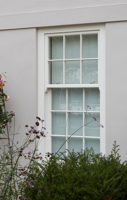 Box sash window