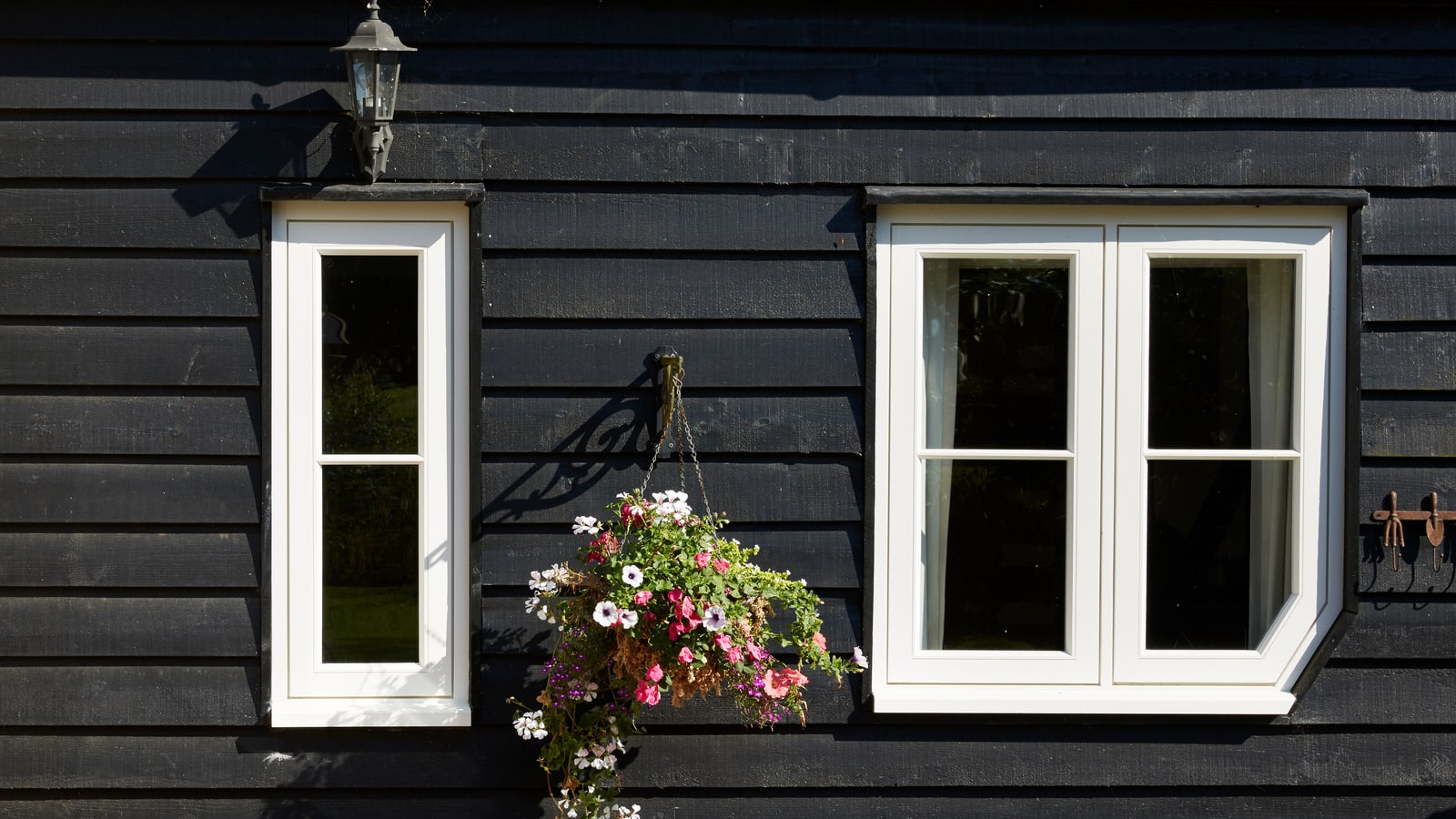 Cottage Style Casement Windows with bespoke 'cornerless' window