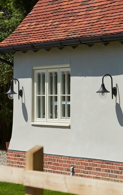 Casement window in Westbury Birch