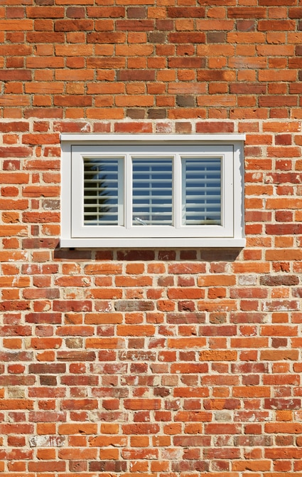 Casement windows with external shutters