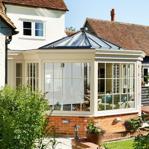 Conservatory extension on Listed Building in High Easter