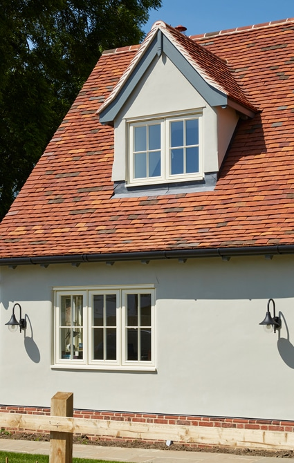 Dormer casement window