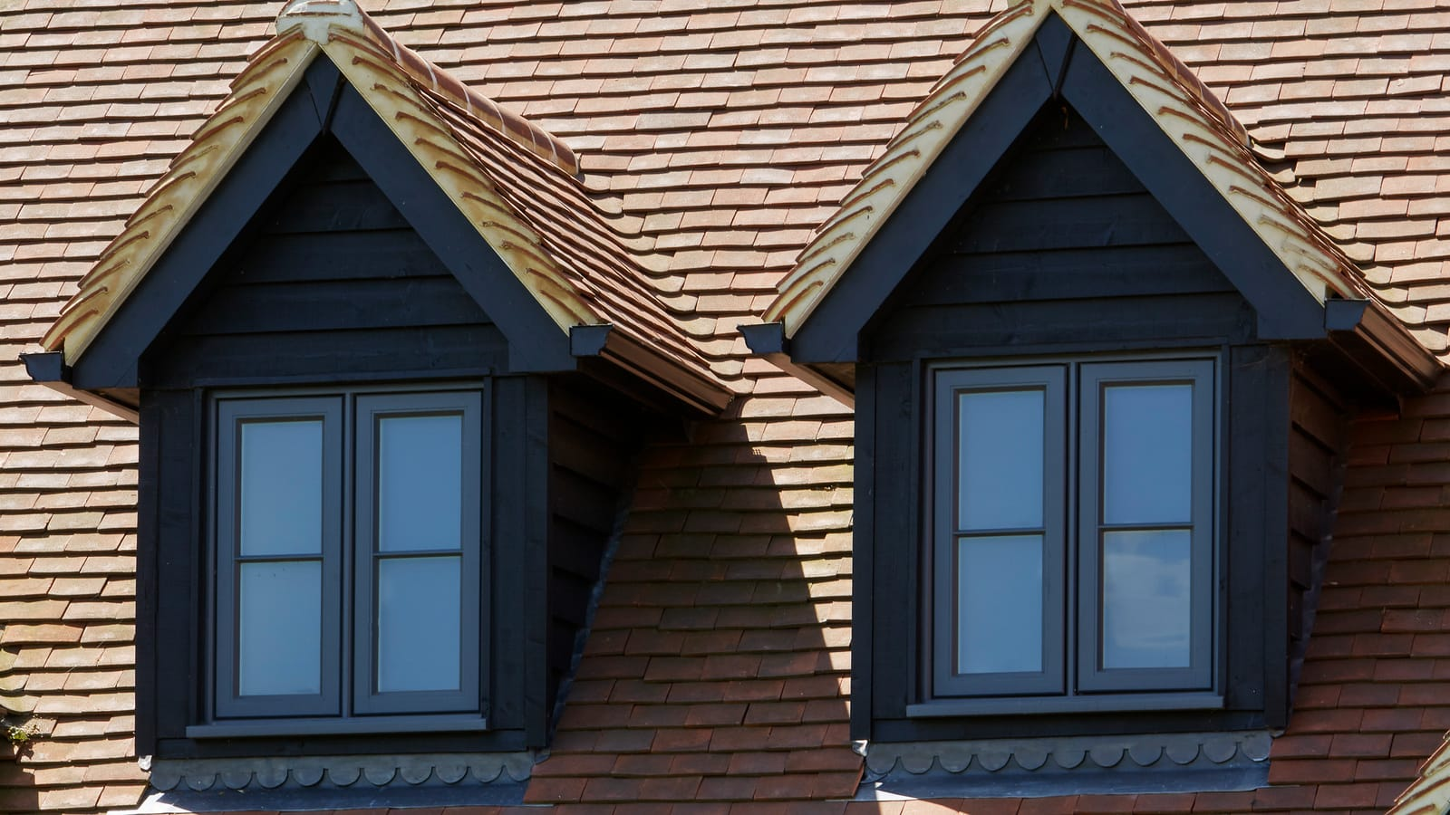 Double casement dormer windows