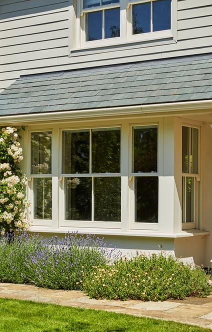 Ground floor standard spring balanced sash window