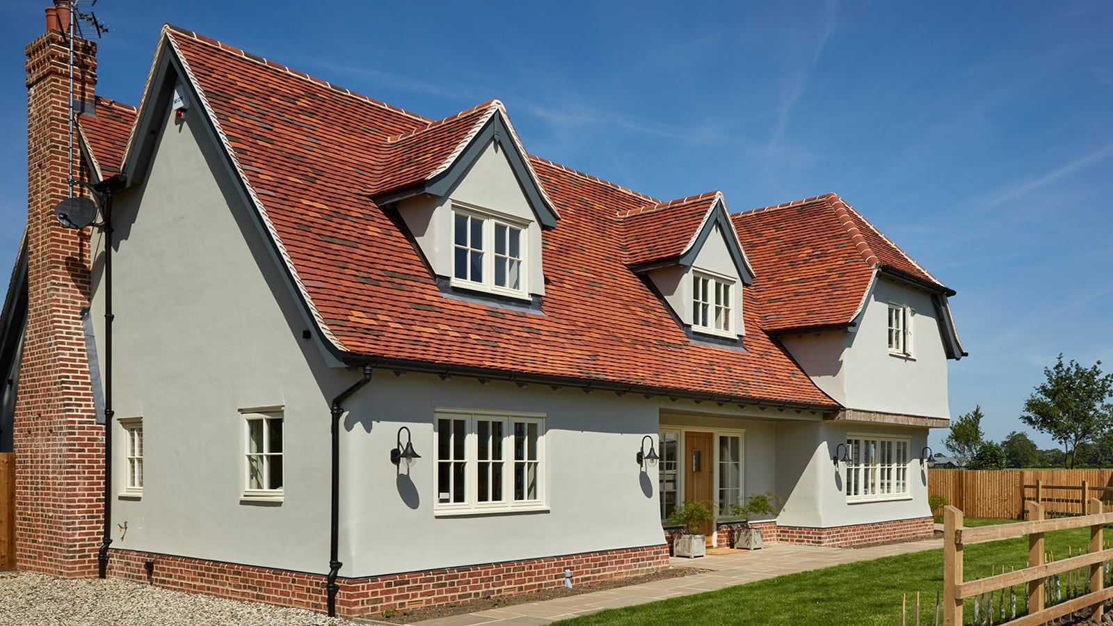 New build with Westbury windows and doors