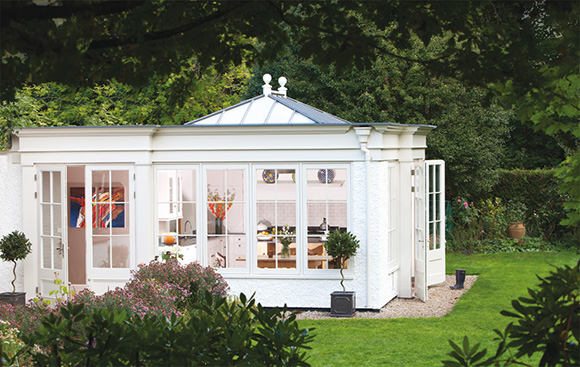 Garden room extension by Westbury