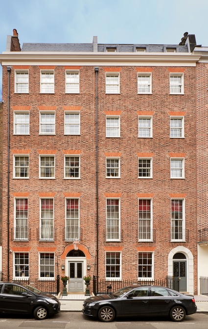 Six-storey, Georgian townhouse in Marylebone
