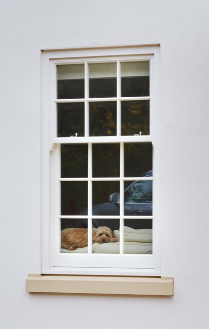 Spring Balanced Sash Window