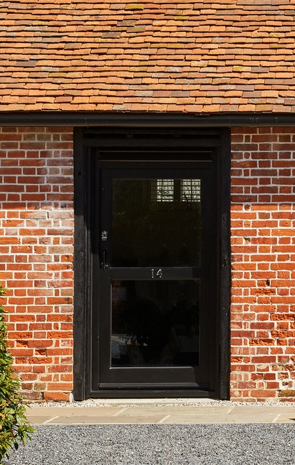 Stable door sets, louvered to provide ventilation