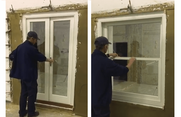 Acoustic testing of our windows and doors