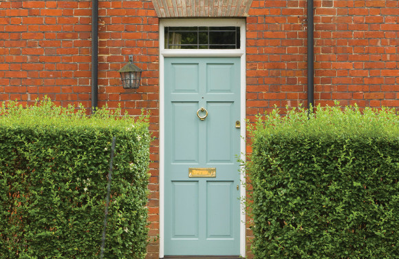 A black front door: What colour should you paint yours?