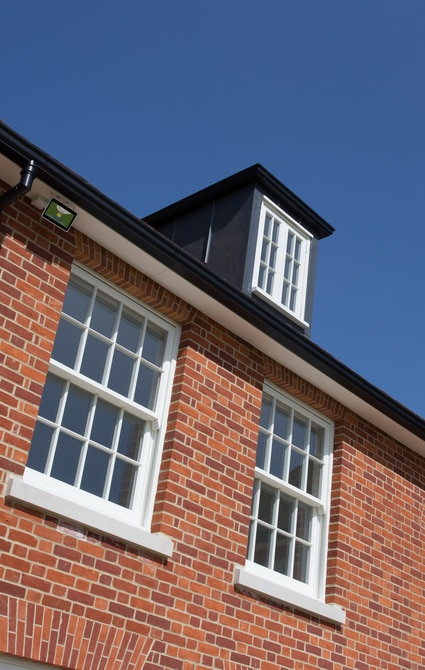 Timber windows - dormer windows