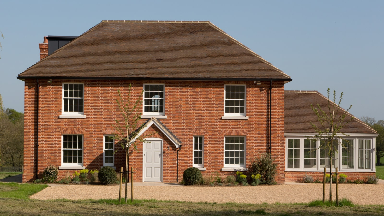 New Timber Windows & Doors add Quality Feel to New Build