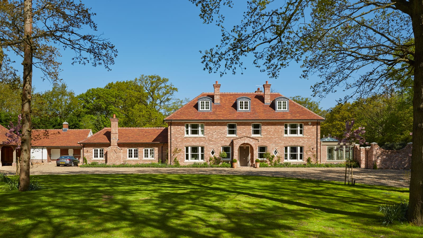 Timber Box Sash Windows Transform New Build Country Home