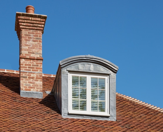 Westbury White French dormer window
