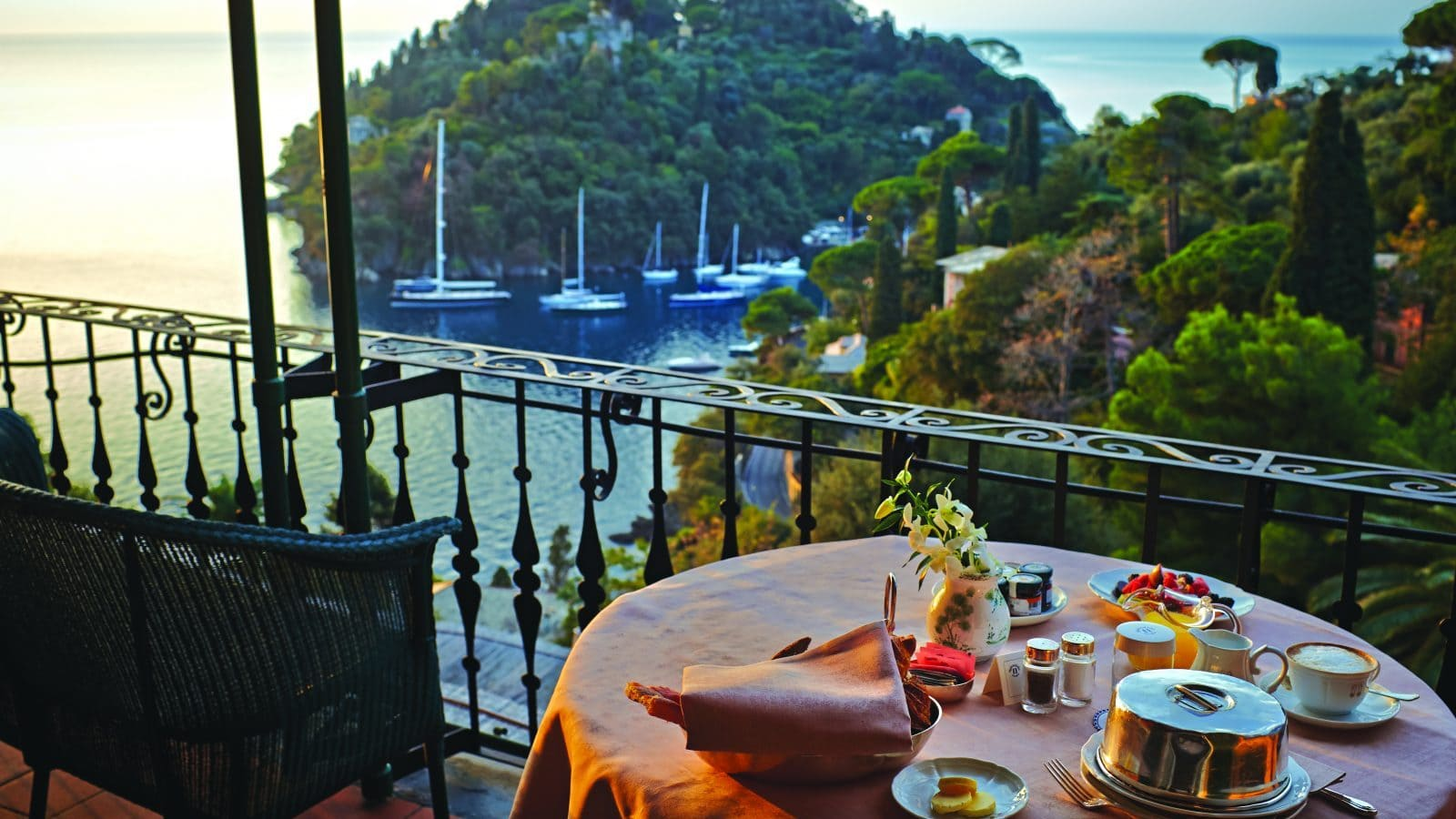 Window to the world: Portofino
