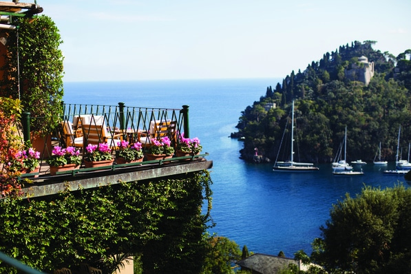 Portofino - breathtaking balcony views