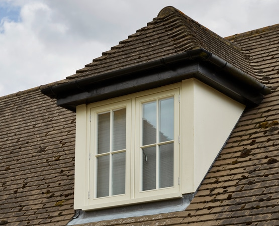 Timber casement windows - dormer style