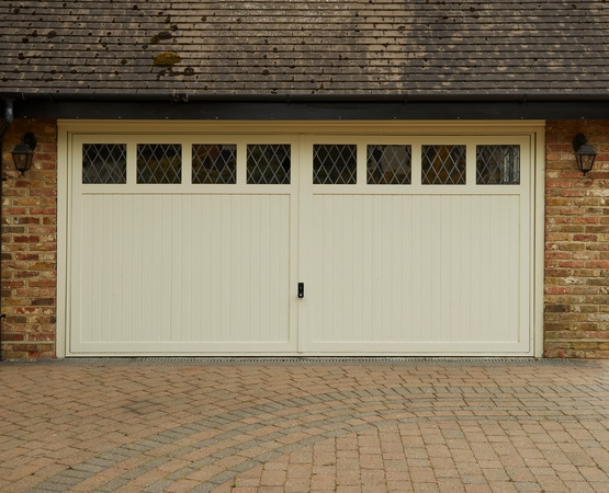 Casement windows and doors installation - Timber garage door
