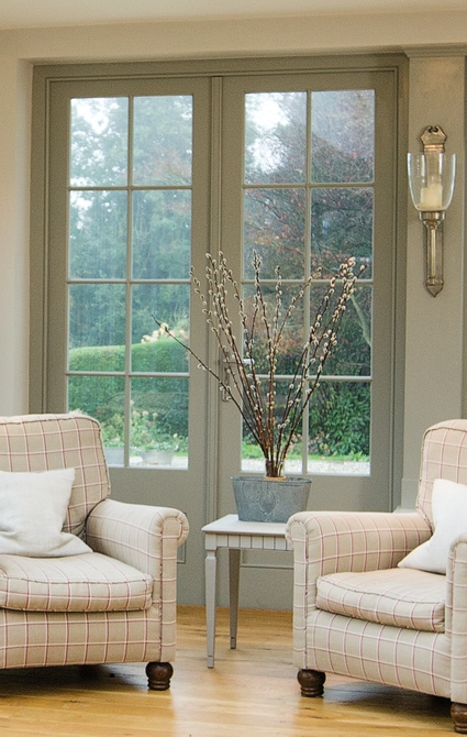 Orangery French doors