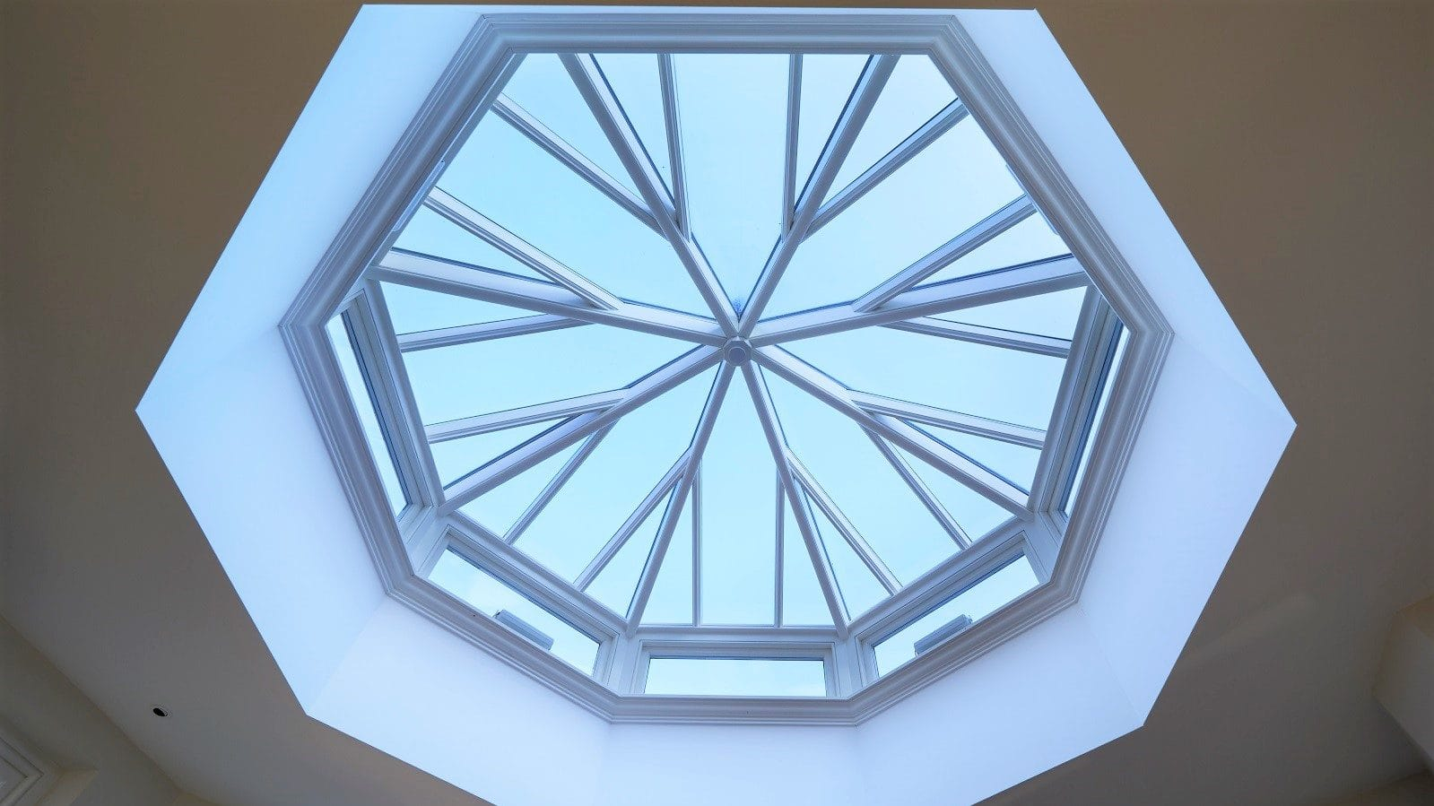 What are roof lanterns?