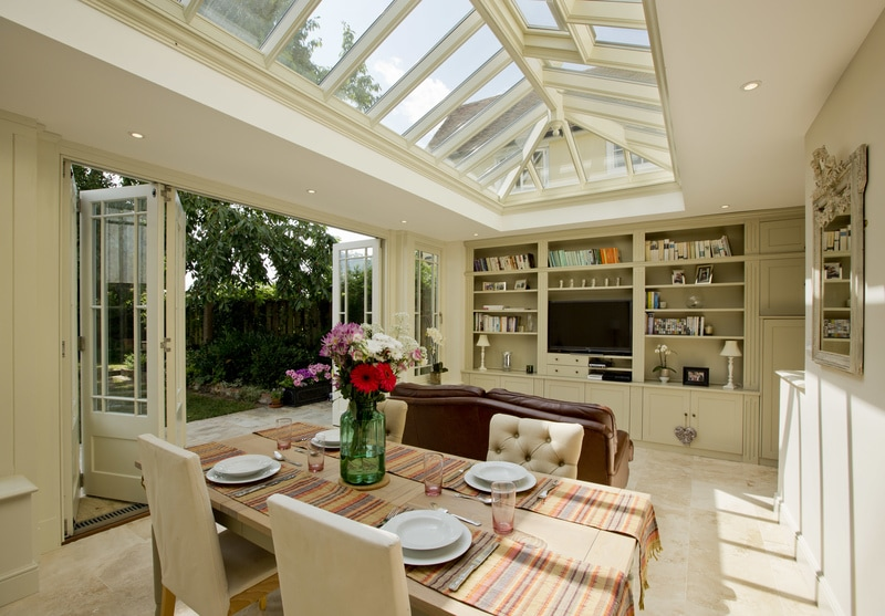 The benefits of bi-folding doors are innumerable during the summer, when you can turn your home and your garden into one impressive living space.