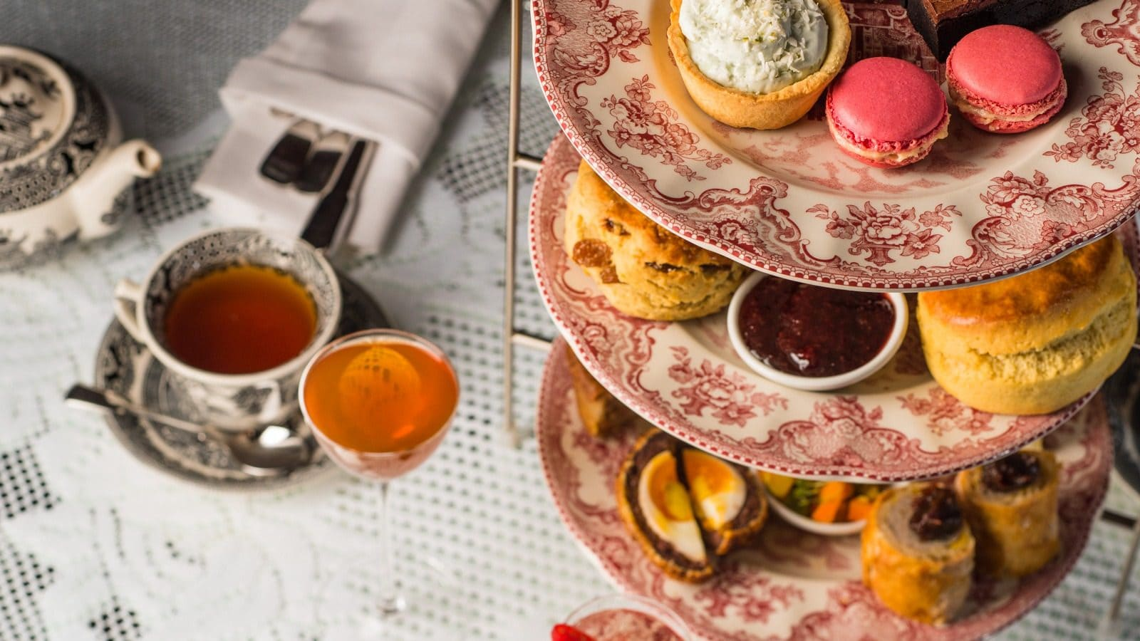 Afternoon tea at the Zetter Townhouse for Mother's Day