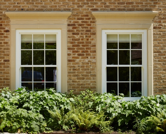 Traditional Accoya timber sliding sash windows