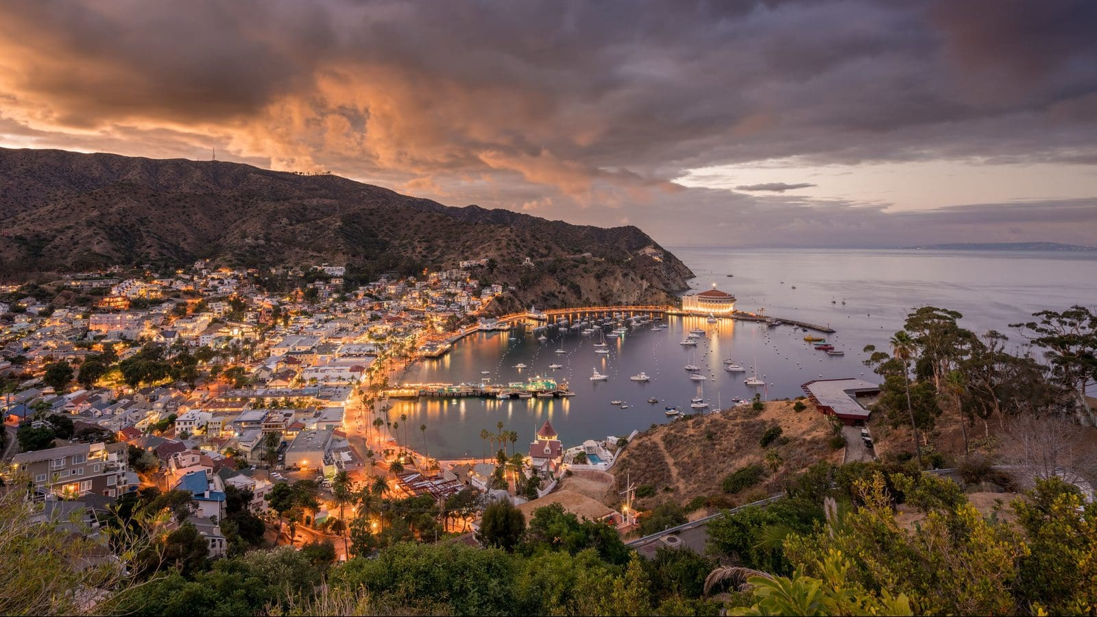 Window to the world: Catalina Island, California