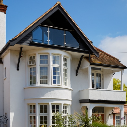 Replacement window bays for elegant Essex home
