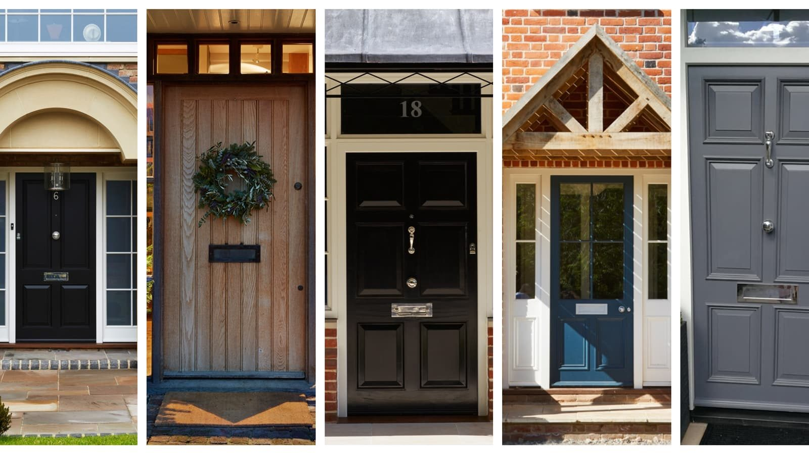 Get the look: six styles for front doors