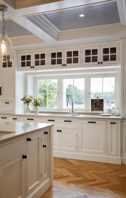Timber Windows in kitchen