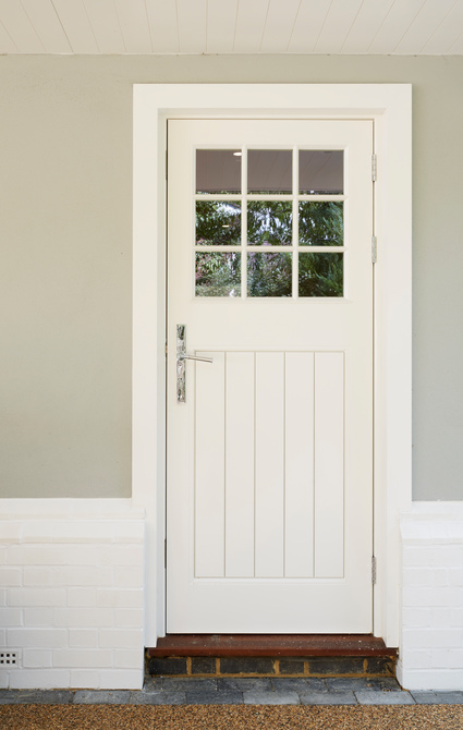 timber entrance door