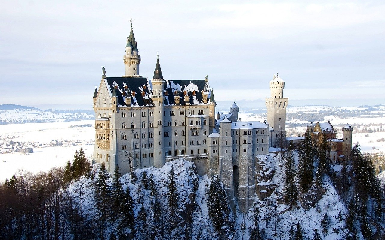 Window to the world: Neuschwanstein