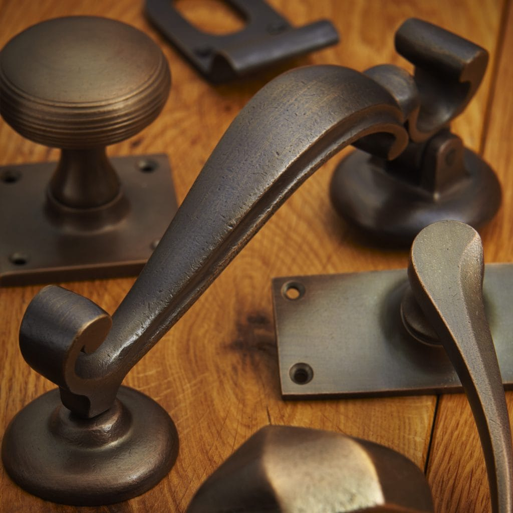 bronze door handles