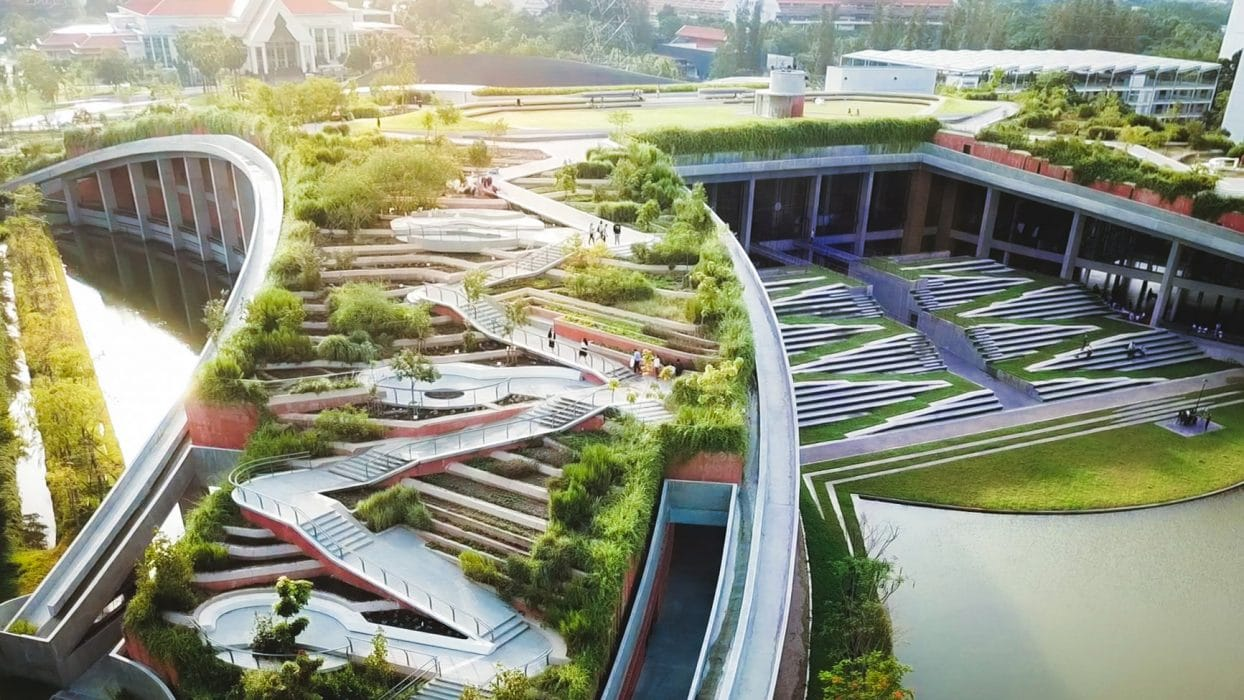 Thammasat Urban Rooftop Farm