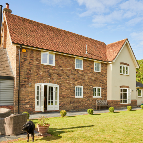 Quality Timber Doors and Windows Revamp Country Residence