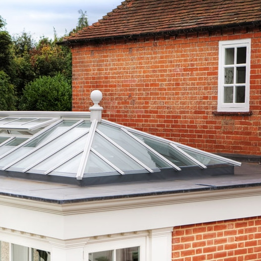 What is the difference between a roof lantern and skylight?