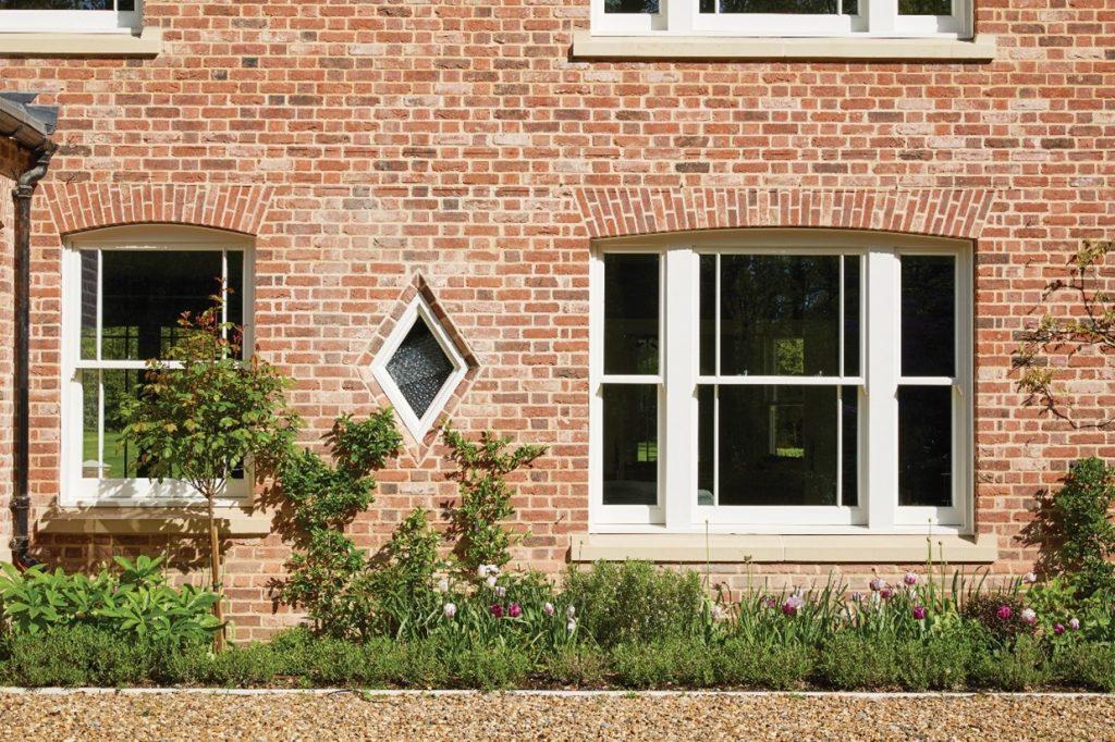 wooden box sash window