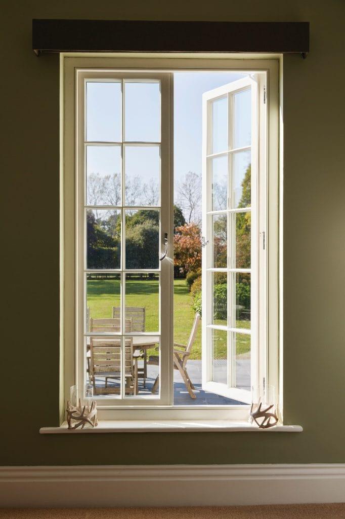 wooden windows French casement