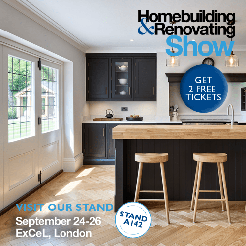 London's go-to show for self-builders and renovators is back – and we'll be there
