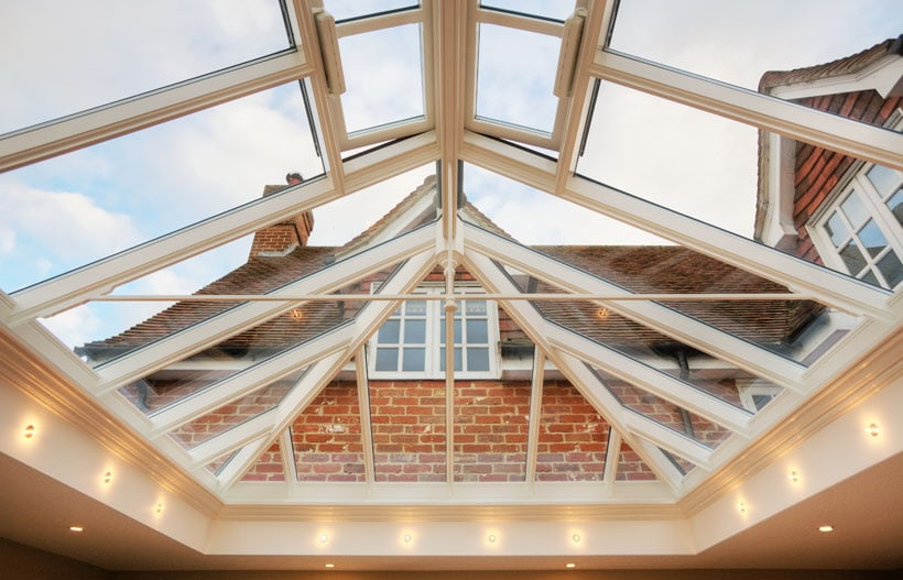 larger roof lanterns cost more money as they require more timber, glass and labour to build